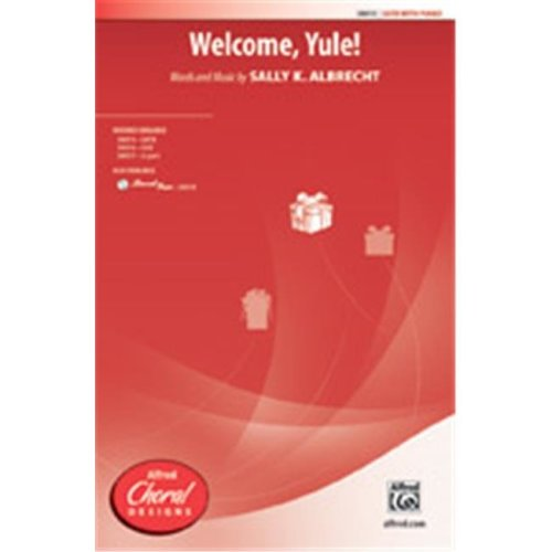 Alfred 00-38018 WELCOME YULE-STRX CD