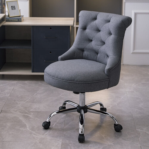 Office Chair Adjustable Height Swivel Study Computer Desk Task Chair