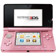 Nintendo Handheld Console 3DS - Coral Pink - Used