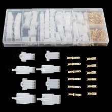 40Pcs Auto Connectors Terminal Motorcycle Car Electrical 2.8mm   Pin R