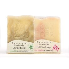 Benessere-Boby and face care set (Cannabis-Rose Geranium)