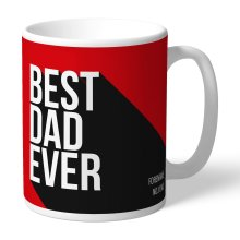 Official Personalised Manchester United FC Best Dad Ever Mug