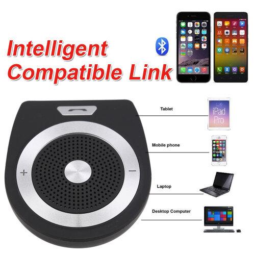 Hands Free Handsfree Kit Bluetooth Speaker Wireless Car