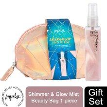 Impulse Shimmer Spray&Glow MistBeauty Seashell Bag 2pcs GiftSet ForHer
