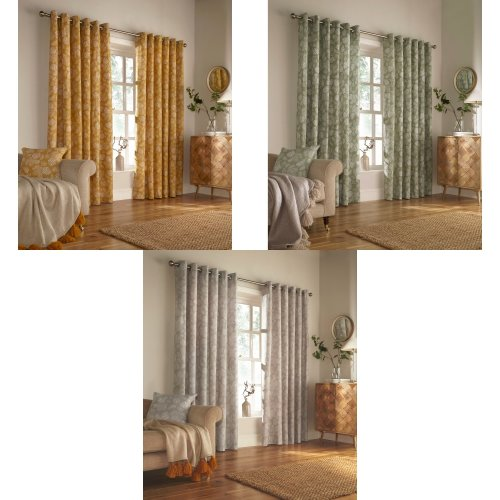 Furn Irwin Woodland Design Ringtop Eyelet Curtains (Pair)