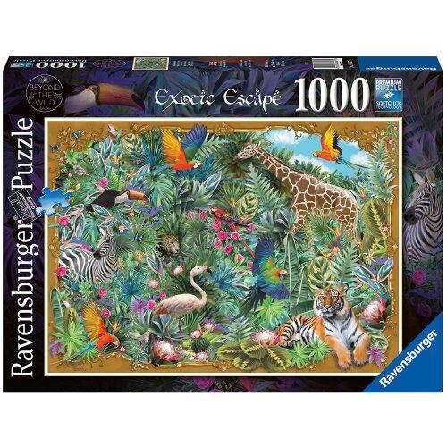 Ravensburger Exotic Escape, Beyond The Wild 1000 Piece Jigsaw Puzzle