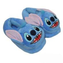Stitch Plush Warm Shoes Stitch with Cotton Slippers