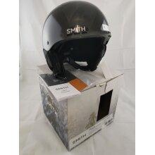 Smith Optics Holt Jr. Youth Ski Snowmobile Helmet YM (53-58Cm) Black - Used