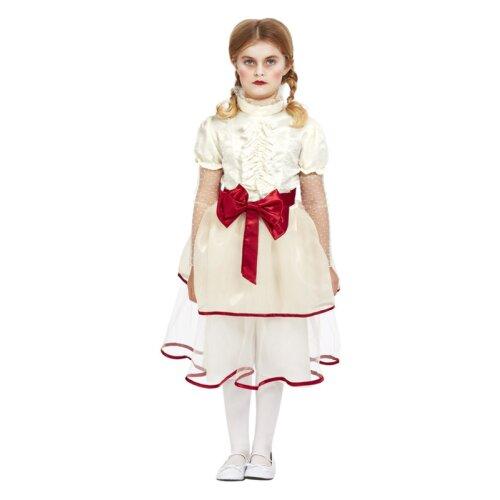 Girls Porcelain Doll Fancy Dress Costume (Age 7-9)
