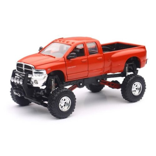 New-Ray 54546 Dodge Ram 3500 In Red With Lifted Suspension