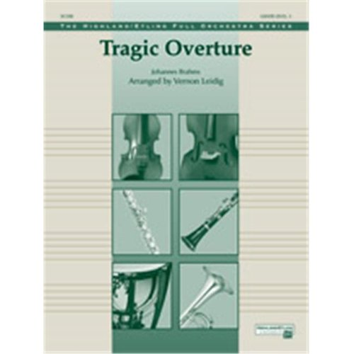 Alfred 00-38503S S TRAGIC OVERTURE-HFO
