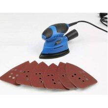 130W Palm Sander - Compact Sander Machine for Wood Floor Wall DIY Jobs