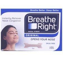 Breathe Right Nasal Strips Tan 30 - Large