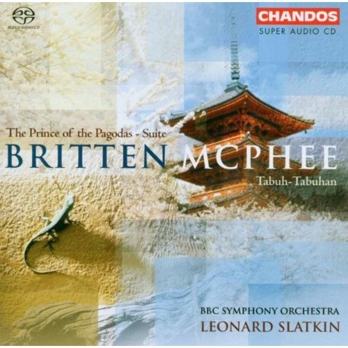 Britten - Britten - Prince of the Pagodas; McPhee - Tabuh-Tabuhan [CD]