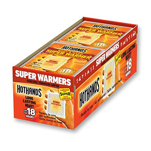 HotHands Body and Hand Super Warmer 18 Hours of Heat Freshly Packed 8 Count