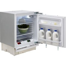 Hotpoint HLA1.UK1 Integrated Under Counter Fridge - Fixed Door Fixing Kit - White