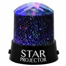 LED Star Projector Night Light Sky Star Moon Mood Lamp Kids Gift Bedroom