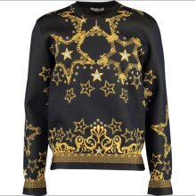 Versace Medusa Star Baroque Gold Black Sweater Jumper Not trousers hat trainers shoes jeans shirt wallet coat jacket sneakers belt bag sunglasses