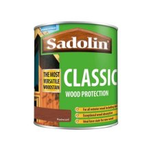 Sadolin 5028473 Classic Wood Protection Redwood 1 Litre