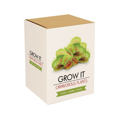 Grow It Plant Set Carnivorous Plant Breeding gift Size