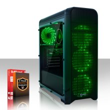 Fierce GUARDIAN Gaming PC - 4.0GHz Quad-Core AMD Ryzen 5 2500X with various options