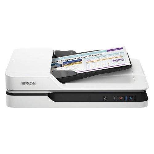 Scanner Epson WorkForce DS-1630 LED 300 dpi LAN White