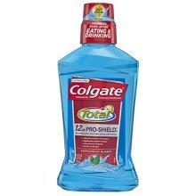 Colgate Total Pro-Shield Mouthwash, Peppermint - 500 mL (6 Pack)