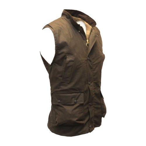 Walker & Hawkes - Mens Wax Bodywarmer Waistcoat Countrywear Gilet