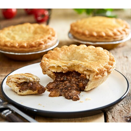 Country Range Frozen Minced Beef and Onion Puff Pies - 36x145g