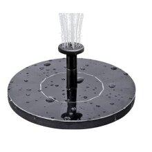 Standing Bird Bath Solar Fountain Water Pump