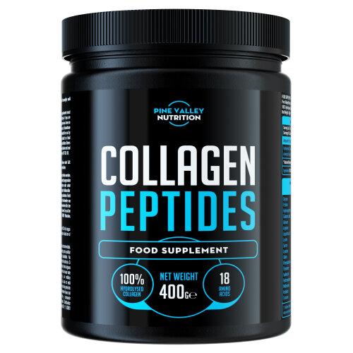 Collagen Peptides Powder - Non-GMO, 100% Gluten Free (400 Grams)