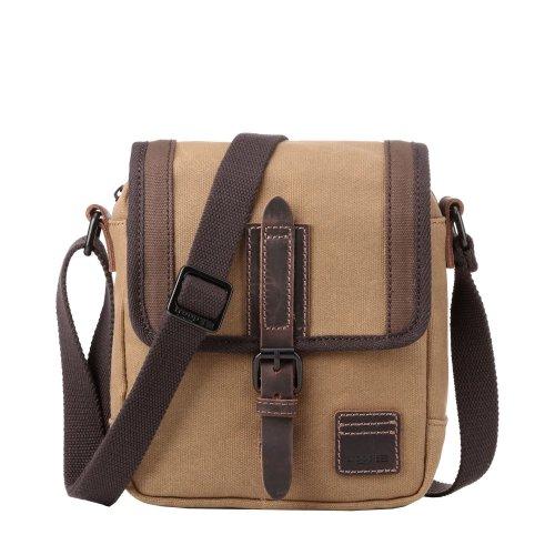 TRP0485 Troop London Classic Canvas Messenger Bag | Buy Bags Online | Canvas Messenger Bags | leather canvas backpack