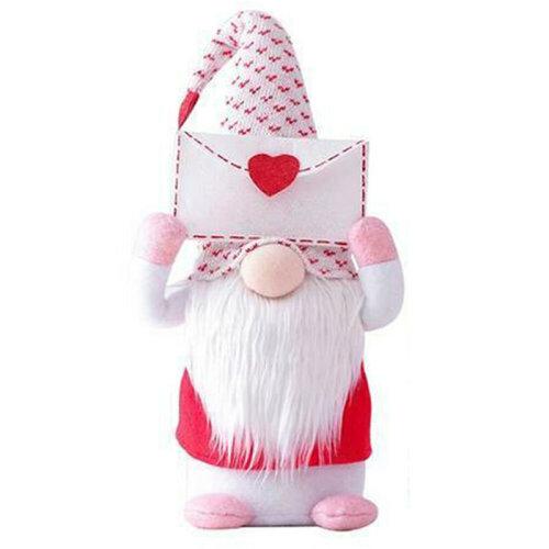 (Large-Envelope) Valentine's Day Tomte Gnome Decorations Swedish Gnome Plush Dolls Handmade Gifts