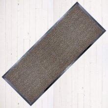 Abaseen Dirt Stopper Carpet Runner Non Slip 60cm x 160cm Beige/Black