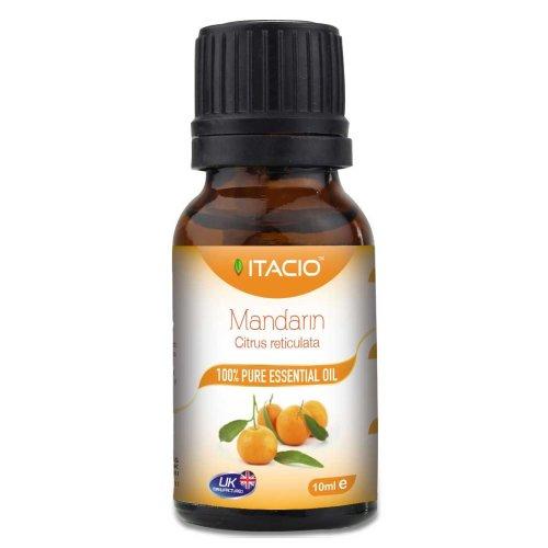 Pure & Natural Mandarin Essential Oil 10ml Aromatherapy VitacioUK
