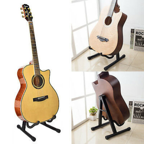 Guitar Floor Stand Holder A Frame Fits Acoustic Electric Bass