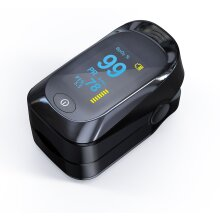 Professional Finger Pulse Oximeter Blood Oxygen Saturation Monitor