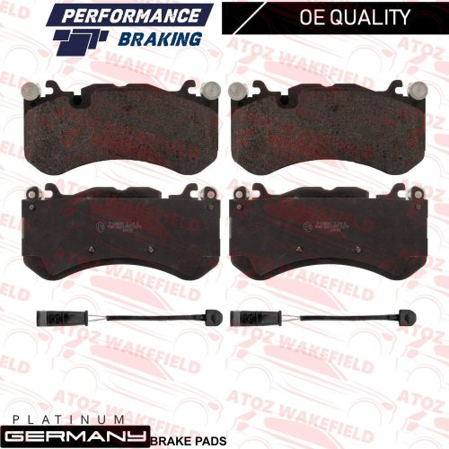 FOR MERCEDES G63 AMG W643 FRONT PLATINUM GERMANY BRAKE PADS WIRE SENSORS