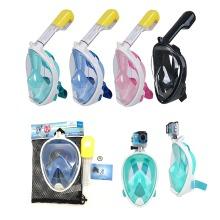 Snorkeling Mask Scuba Snorkeled Mask Anti-fog Swim