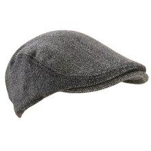 Extremities Parapet Tweed Cap - Khaki Herringbone Khaki