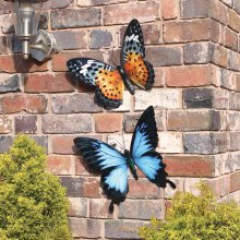 Primus Large Metal Butterfly Garden Wall Art Gift