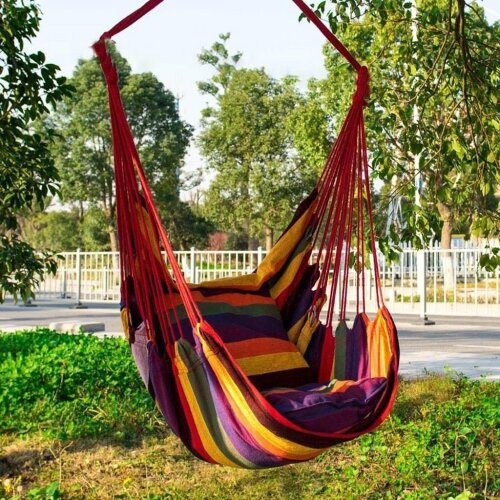 Furniture Hammock  Swing Camping Portable Outdoor Camping Tent Hanging Swing Chair