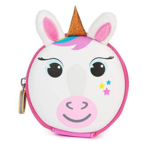 boppi Tiny Trekker Kids Coin Purse Travel Wallet - Unicorn