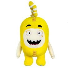 """ODDBODS Bubbles Soft Stuffed Plush Toys - for Boys and Girls - Yellow (12"""" Tall)"""