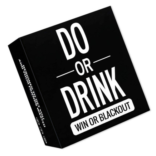 Do or Drink - Drinking Cards Christmas Birthday Party Funny Game Card For Adult