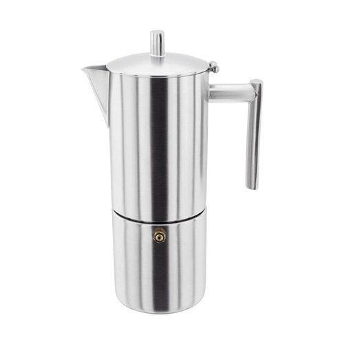 6 Cup Matt Espresso Maker, 0.8L