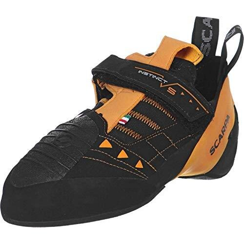 Scarpa Men's Instinct VS Climbing Shoes, Black FV, 4.5 UK