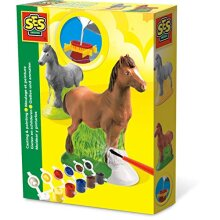 SES Creative Horse Plaster Casting and Painting Kit