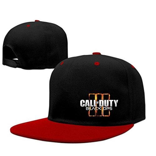 Call Of Duty Black Ops 3 Logo Unisex Cotton Adjustable Trucker Hat