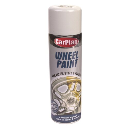 CarPlan Wheel Paint - 500ml Bright Silver x 6